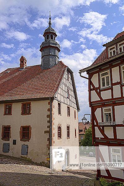 Germany  Schlitz  townhall