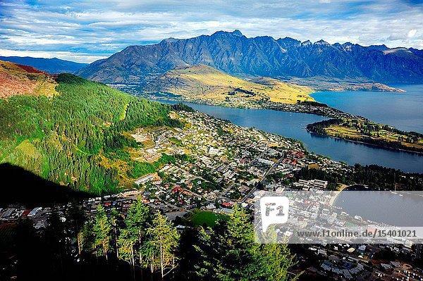 The queens borough of New Zealand scenery