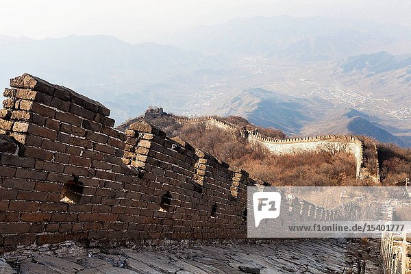 Beijing landscape arrow buttons the Great Wall
