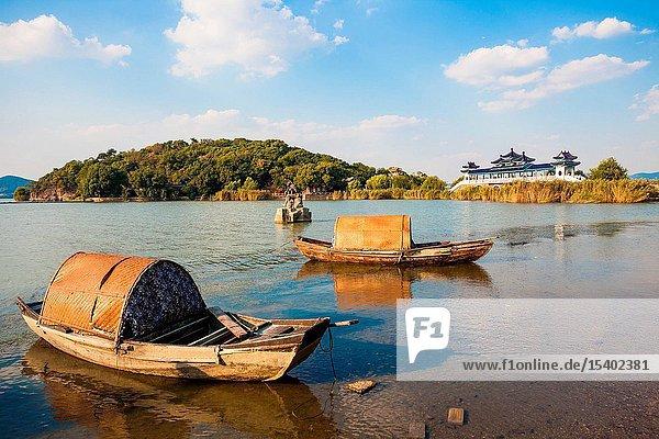 The taihu lake scenery