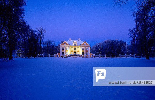 The Palmse Manor in Winter