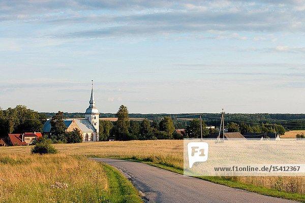 Vastseliina Church  Southern Estonia