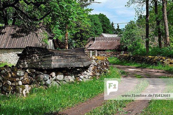 Koguva village  Muhu island