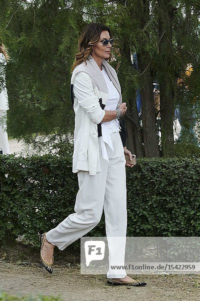 Paloma Lago  Mar Flores attends Longines Global Champions Tour 2019 Madrid Day 2 at Club de Campo Villa de Madrid on May 18  2019 in Madrid  Spain