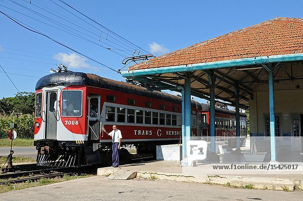 Cuba's tourist attraction: hershey's chocolate train.