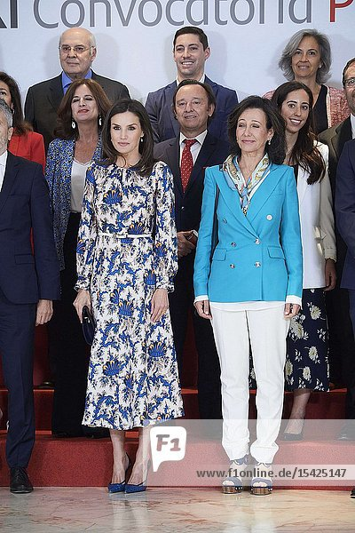 Queen Letizia of Spain  Ana Patricia Botin attends awards ceremony gala of the 11st 'Social Projects of Banco Santander at Complejo Duques de Pastrana on May 20  2019 in Madrid  Spain