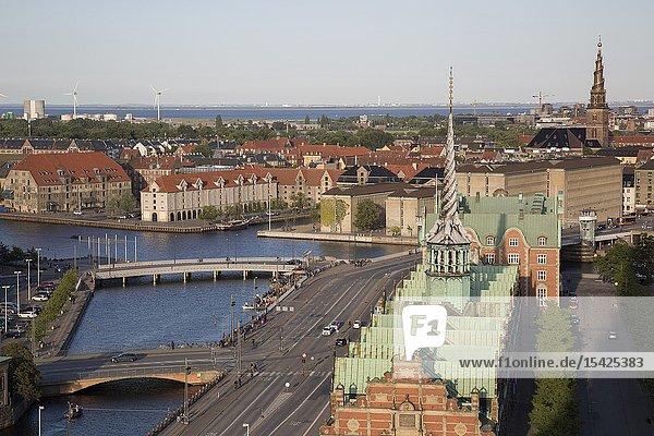 View of Copenhagen  Denmark  Europe.