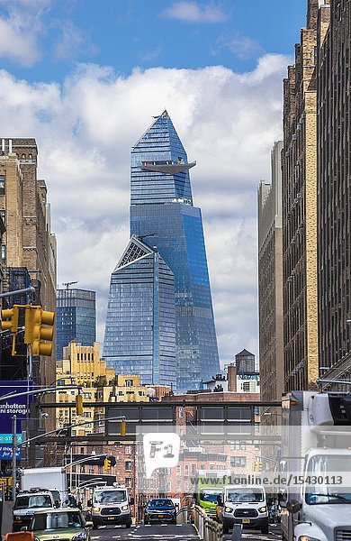 USA  New York City  Manhattan  Hudson Yards Bldgs.