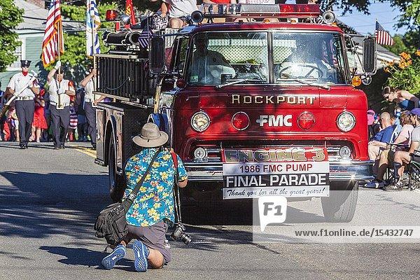 USA  Massachusetts  Cape Ann  Gloucester  Horrible Parade.