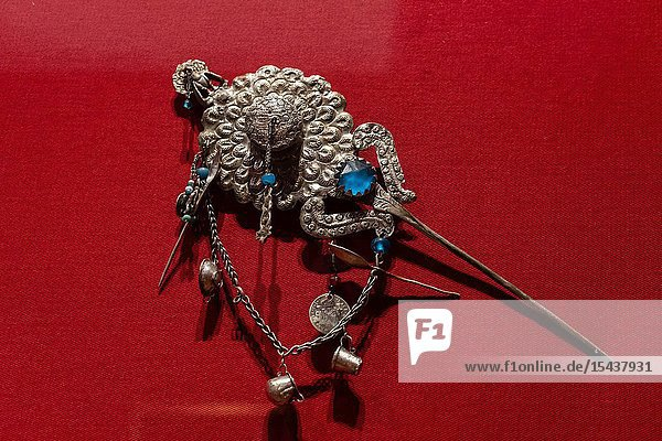 Spanish-Peruvian colonial jewelry  Art Museum of Lima  Lima  Peru..