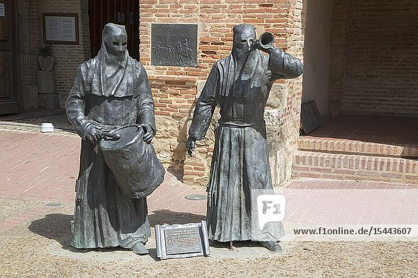 Holy Week Museum  San Lorenzo Church  Sahagun  Spain.