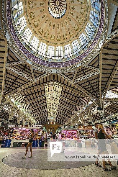 Central Market. Valencia. Comunidad Valenciana. Spain.