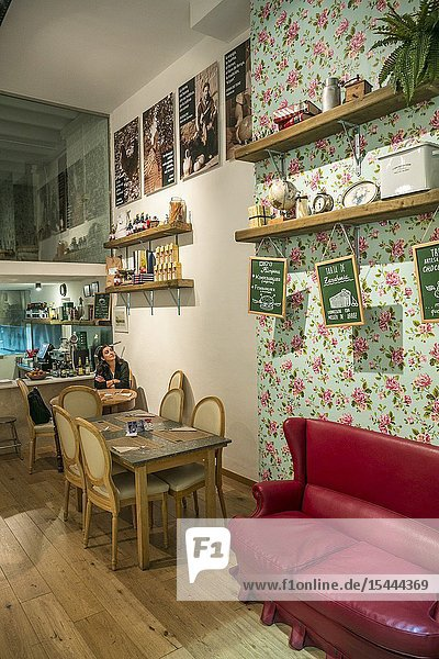 Kimpira Restaurant. Vegetarian and macrobiotic Restaurant. Valencia. Comunidad Valenciana. Spain.