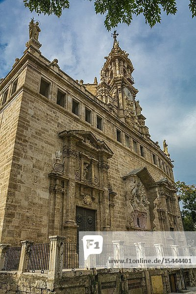 Iglesia de los Santos Juanes Church. Valencia. Comunidad Valenciana. Spain.