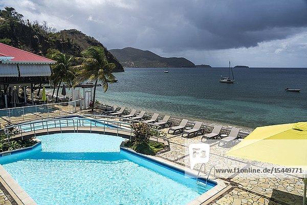 Insel Terre-de-Haut  Les Saintes  Guadeloupe  Karibik  Frankreich   Terre-de-Haut  Les Saintes  Guadeloupe  France.
