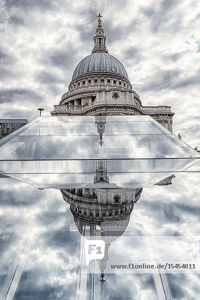 Saint Paul's Cathedral  London UK.