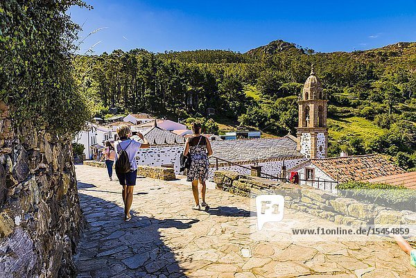 Santo André de Teixido - San Andrés de Teixido  is a small village from the municipality of Cedeira. There is a sanctuary also called Santo André de Teixido  which is a famous pilgrimage site. San Andrés de Teixido  Cedeira  A Coruña  Galicia  Spain  Europe.