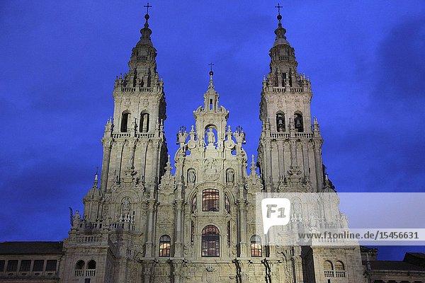 Spain  Galicia  Santiago de Compostela  Cathedral .