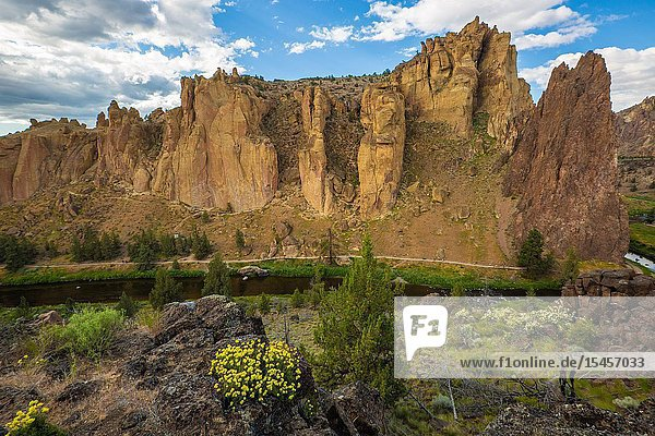 Smith Rock is considered one of the seven wonders of Oregon and is credited as a prime location where American rock climbing took hold.