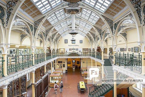 Birmingham Museum & Art Gallery  Industrial Gallery  Chamberlain Square  Birmingham.