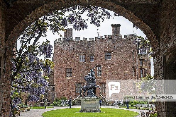 Powis castle  Wales.