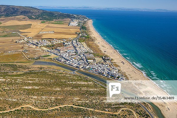 Zahara beach. Zahara de los Atunes. Barbate. Atlantic ocean. Cadiz province. Andalucia. Spain.