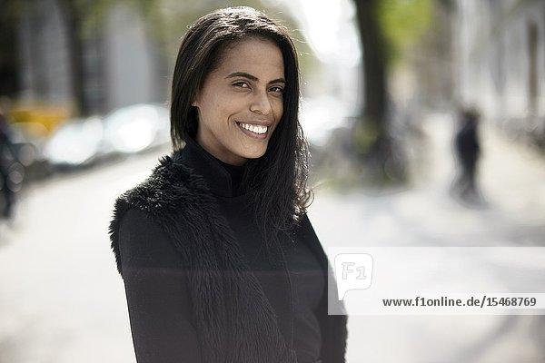 Woman  in Munich  Germany.