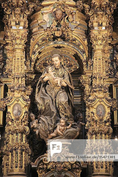 Spain  Andalusia  Seville  Iglesia de San Luis de los Franceses  interior .