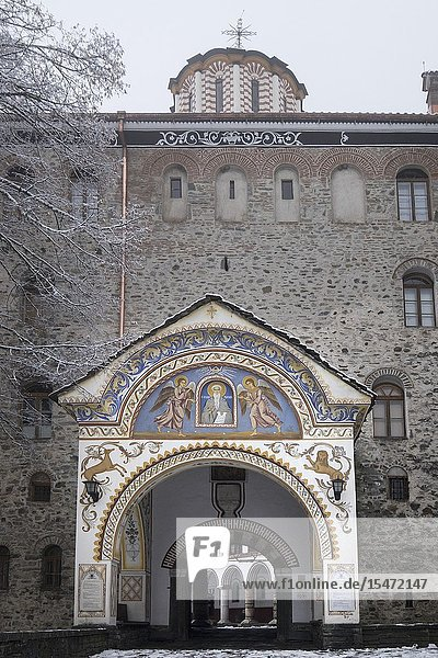 Bulgaria  Sofia  Rila  Monastery.