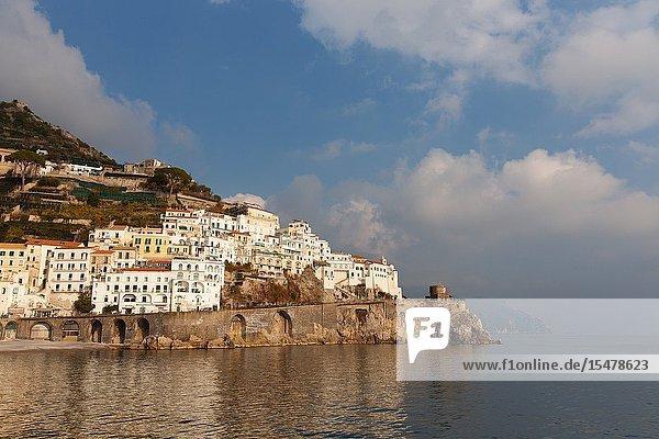 Europe  Campania  Italy  Salerno district  Amalfitan coast.