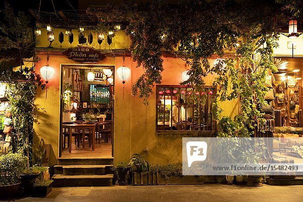 Shop at night. Hoi An  Vietnam  Asia.