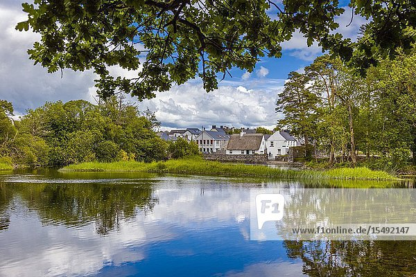 Village of Cong in Couny Mayo Ireland used for filming of The Quiet Man movie with John Wayne and Maureen O'Hara.