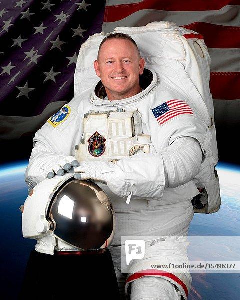 Portrait of astronaut Barry E. Wilmore.