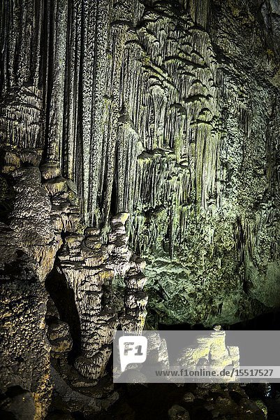 Caves of Artà (Coves d'Artà) in the municipality of Capdepera  in the Northeast of the island of Mallorca  Spain.