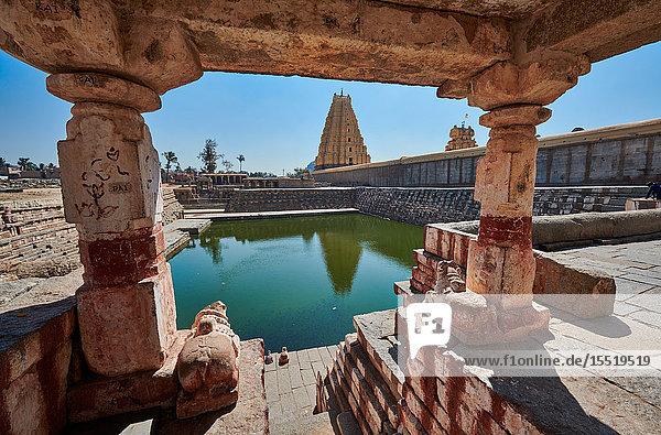 Manmatha Tank  Virupaksha Temple  Hampi  Karnataka  India