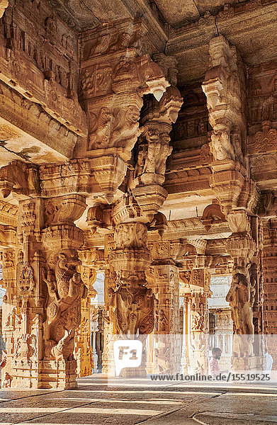 Vijaya Vitthala Tempel  Hampi  Karnataka  Indien