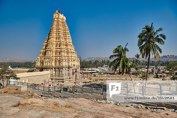 Virupaksha Temple  Hampi  Karnataka  India
