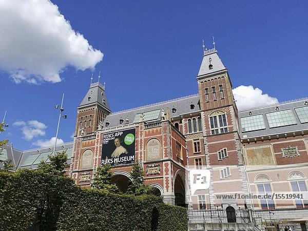 Netherlands  Holland  Amsterdam  Rijksmuseum.