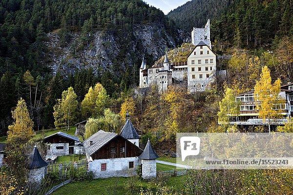 Fernstein Castle  Nassereith  Tyrol  Austria  Europe.