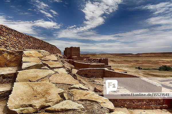 North Africa  Morocco. Kasbah.