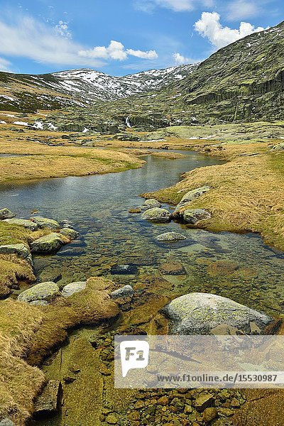 Garganta de las Pozas  Sierra de Gredos  Ávila  Spain