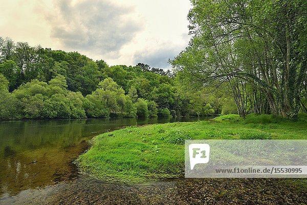 Ulla River  Pontevedra  Galicia  Spain