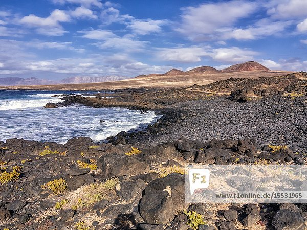 La Caleta. Lanzarote. Canary Islands. Spain. Europe.