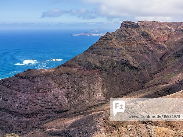 Green Matos from Our Lady of the Snows. Lanzarote. Canary Islands. Spain. Europe.