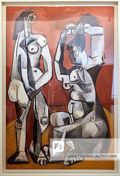'Femmes á la toilette'  1956  Pablo Picasso  Picasso Museum  Paris  France  Europe