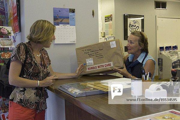Madeira Park Post Office  British Columbia  Canada
