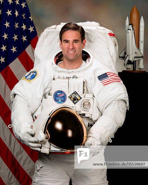 Astronaut Gregory E. Chamitoff  flight engineer