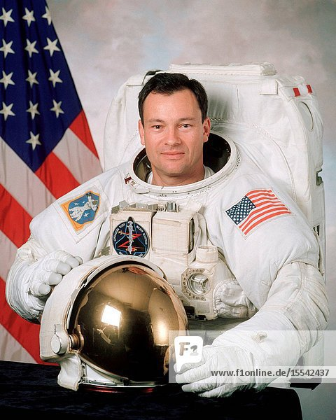 Astronaut Michael E. Lopez-Alegria