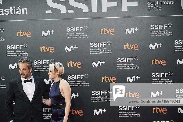 Kristen Stewart  Benedict Andrews attended Opening Ceremony during 67th San Sebastian Film Festival at Kursaal Palace on September 21  2019 in San Sebastian  Spain
