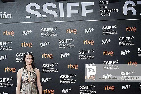 Eva Green attended 'Proxima' Premiere during 67th San Sebastian Film Festival at Kursaal Palace on September 21  2019 in San Sebastian  Spain